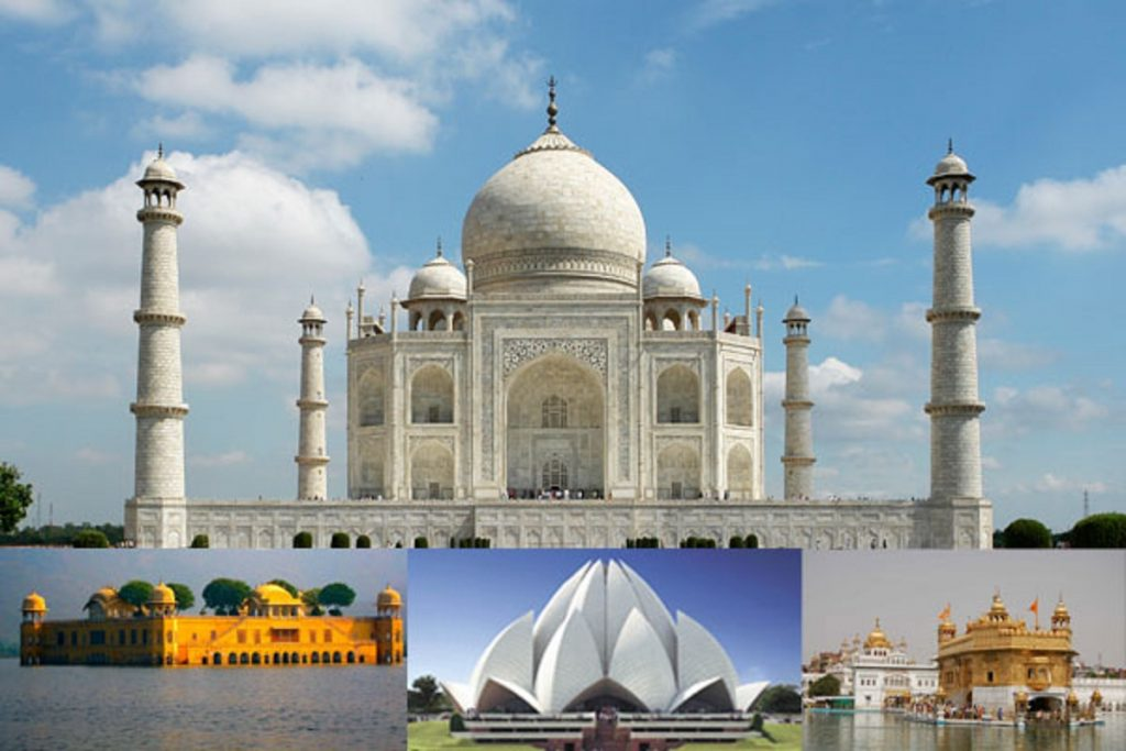 Himachal Tour With Taj Mahal