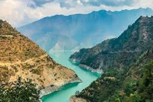 Chamera Dam View