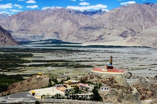 Deskit Monastery, Nubra Valley