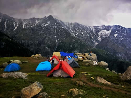 Himachal in Camping
