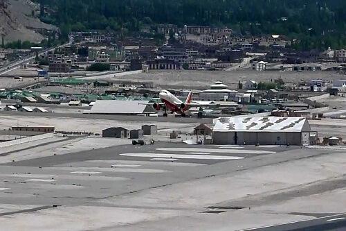 Leh Airport Departure