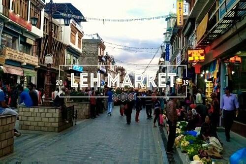 Leh Market