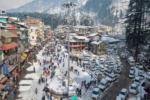 Mall Road, Manali, Himachal Pradesh