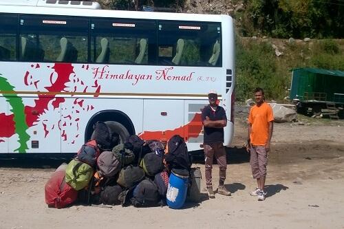 Manali Private Bus Stand