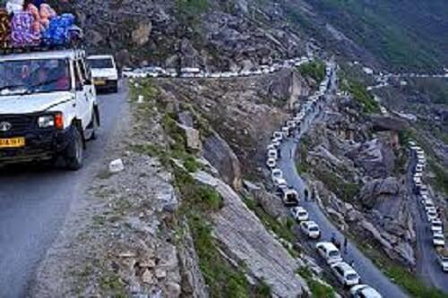 Manali Rohtang Road