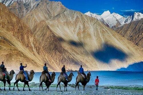 Sand Dunes, Nubra Valley, Ladakh