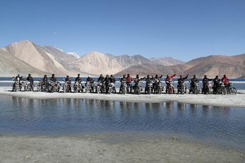 Pangong Lake, Near India-China Border