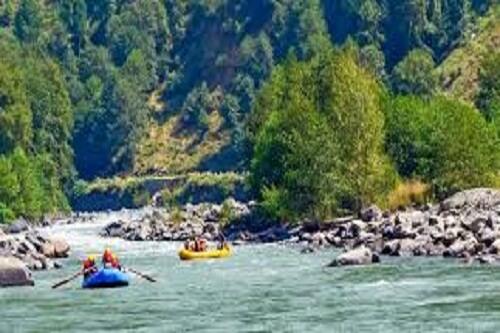 River Rafting Point at Kullu