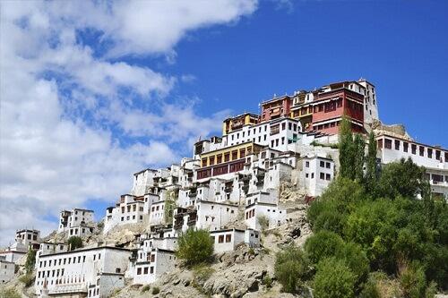 Thiksey Monastery in Leh