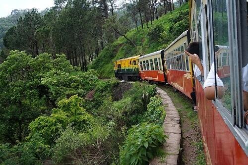 Kalka Shimla Toy Train Honeymoon