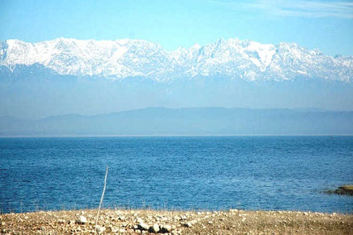 Shivalik Mountain View From Pong Dam, Kangra