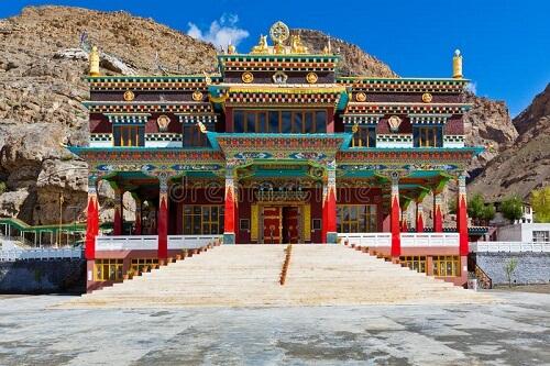 Buddhist Monastery, Kaza, Spiti