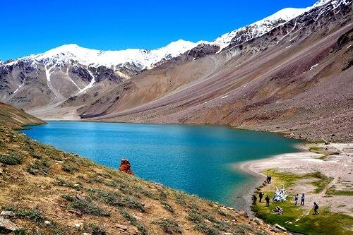Chandertal Lake, Spiti, Himachal Pradesh