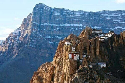 Dhankar Monastery, Spiti