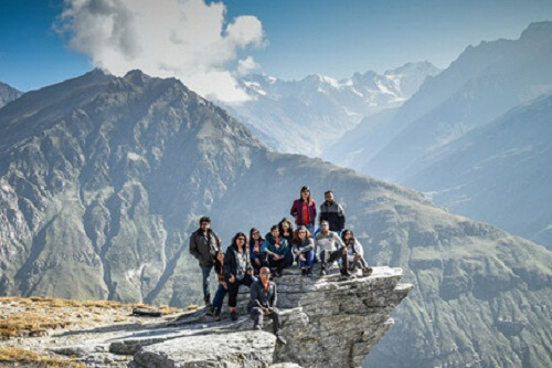 Group Tour in Rohtang Pass