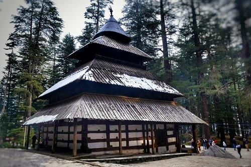 Hadimba Devi Mandir, Manali, Himachal Pradesh, India