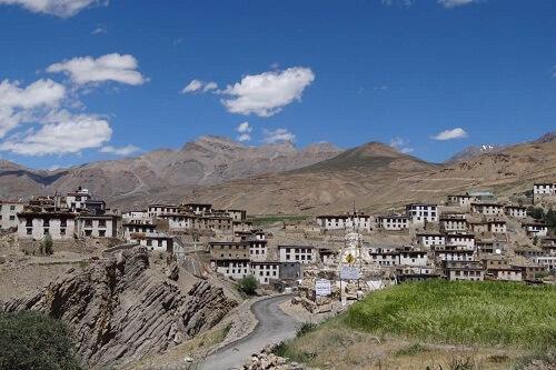 Kibber Village, Spiti, Himachal Pradesh