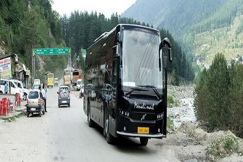 Manali Delhi Manali Volvo Bus