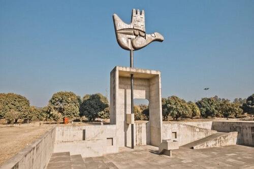 Open Hand Monument, Chandigarh City