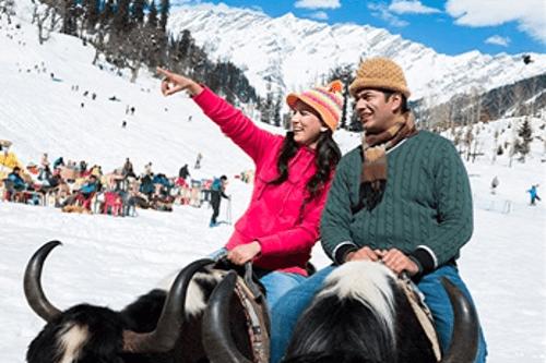 Shimla Manali Dharamshala Dalhousie Chandigarh Honeymoon Package