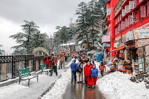 Kullu Manali Shimla Group Tour