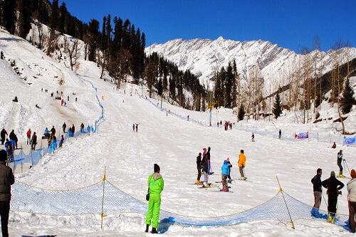 Solang Valley Group Holiday