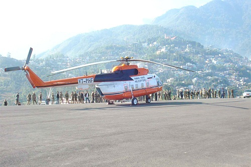 Shimla Helicopter Tour Package