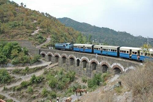 Kalka Shimla Chail Toy Train Trip