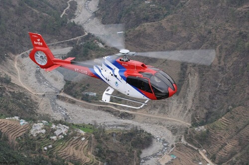 Helicopter Service In Manali
