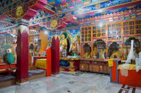 Inside Kardang Monastery