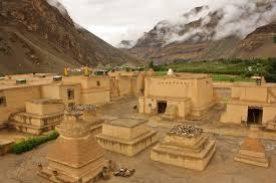 Inside Tabo Monastery