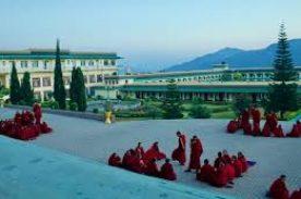 Monks In Bir Monastery