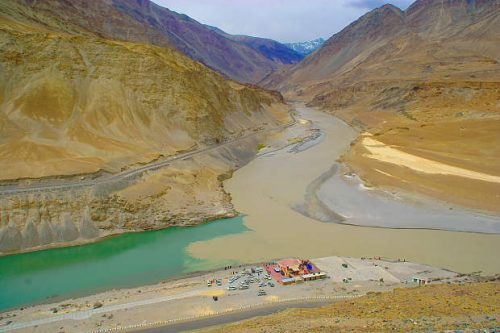 Sham Valley - Zanskar River Sangam